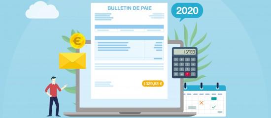 Les changements sur la feuille de paie en2020