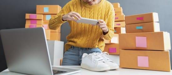 L'imposition des ventes en ligne de biens de seconde main